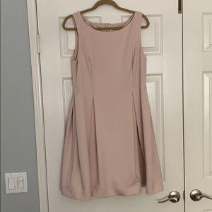 Calvin Klein Sleeveless Pink Dress